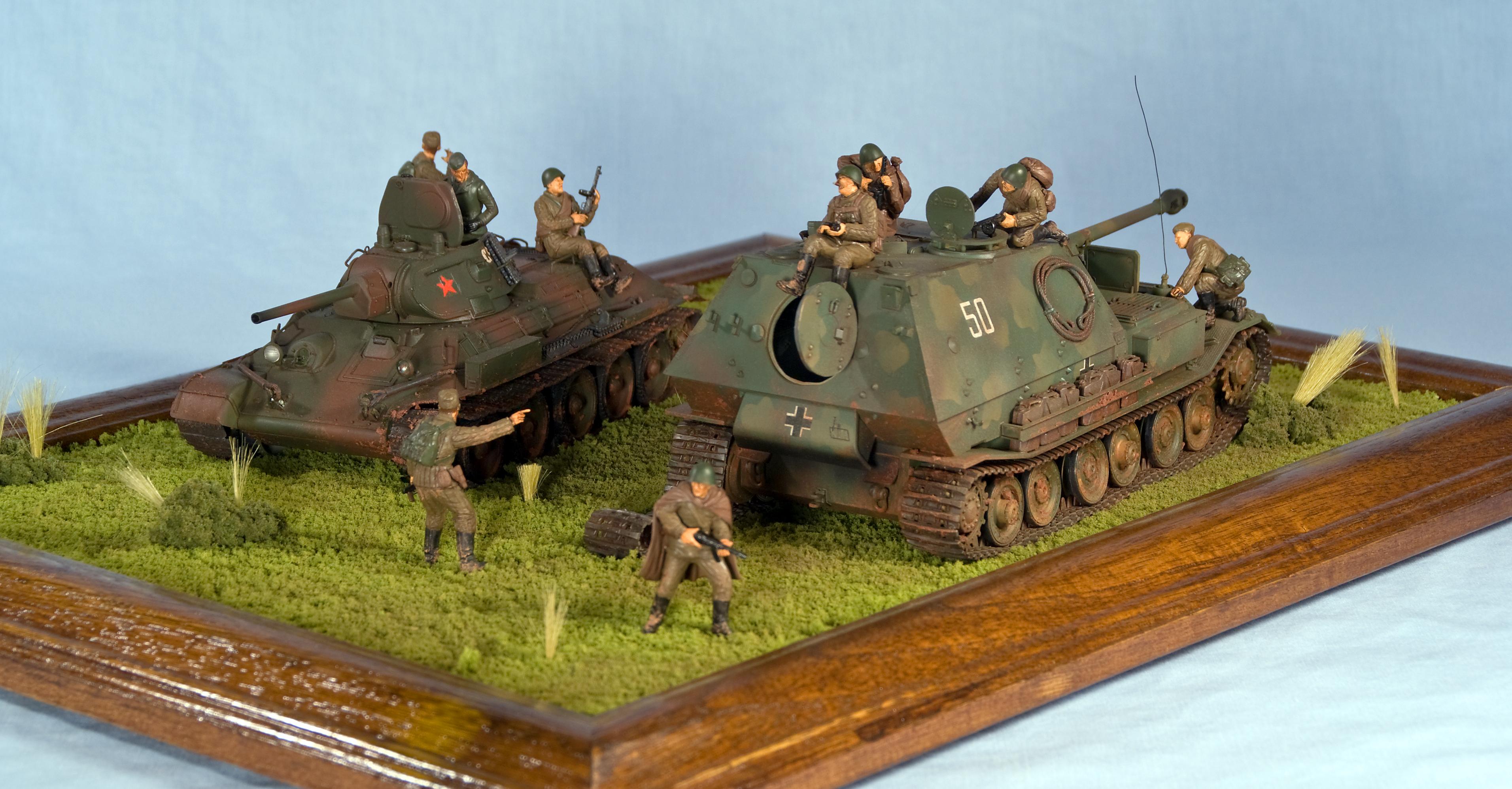 German 88mm Gun Flak 36/37 -- Plastic Model Military