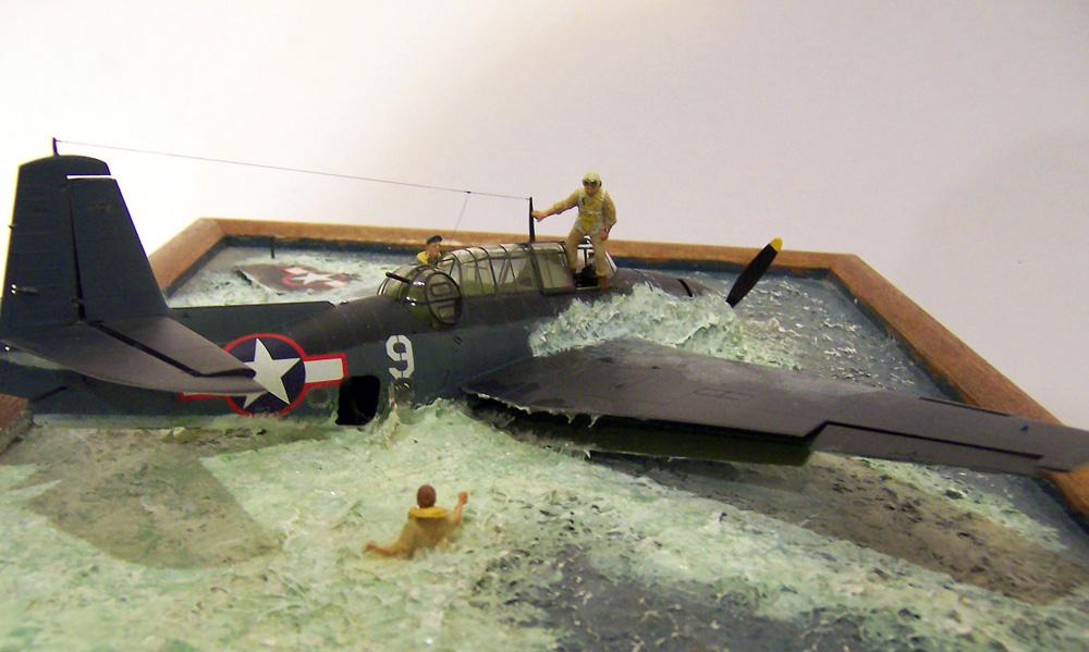 "1/48 scale scene ""Turkey in the Soup"" - FineScale Modeler - Essential magazine for scale model ..."