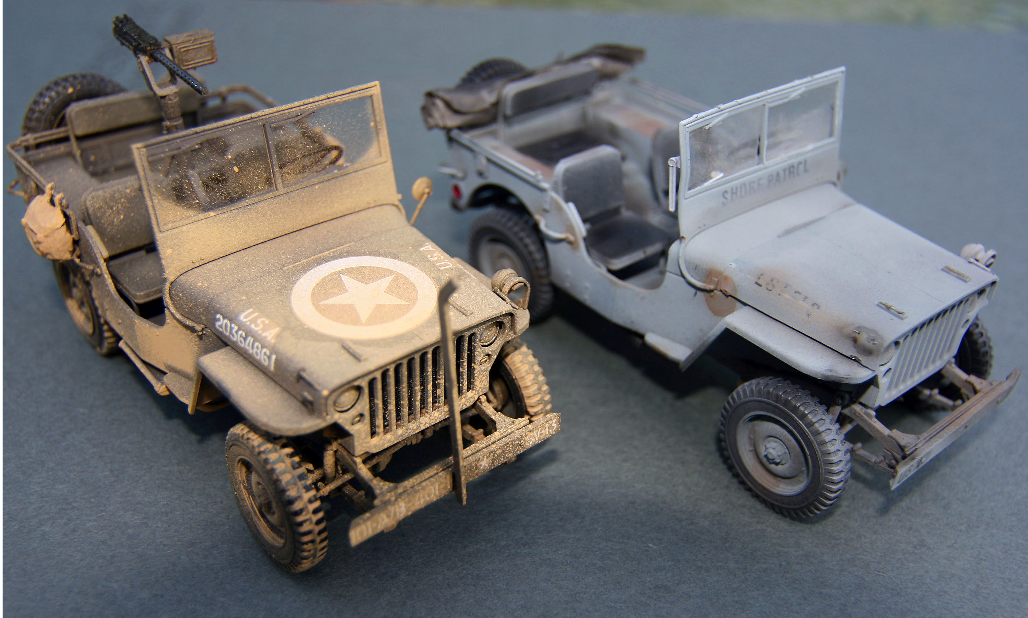 Hasegawa 1/24 scale Willys Jeeps - FineScale Modeler