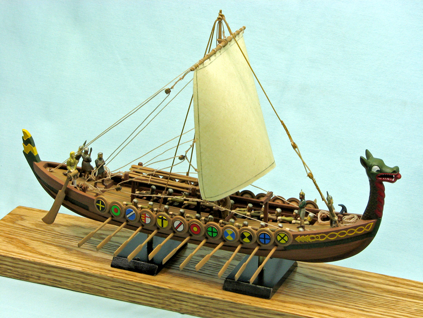 Drakkar Viking Ship Finescale Modeler Essential