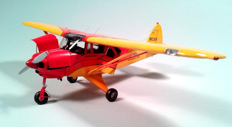 Monogram Piper Tri-Pacer — April 2015 - FineScale Modeler