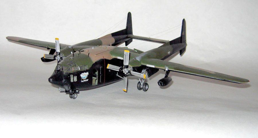 Italeri 1 72 Scale Ac 119k Stinger Gunship Finescale