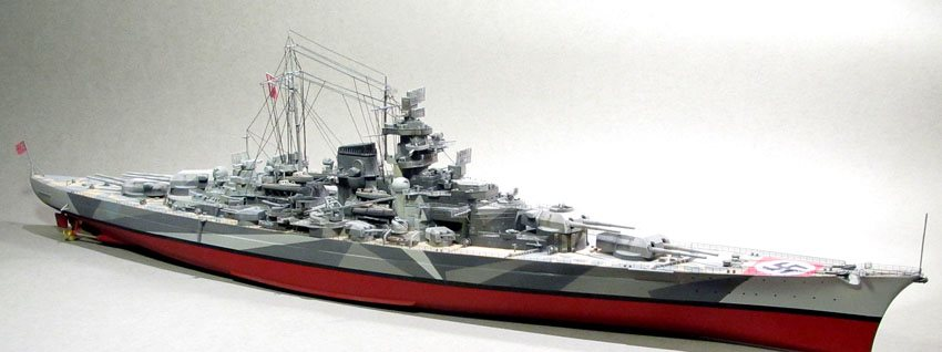 Model kit reviews how to scale modeling and scale modeling products - Tamiya 1 350 Scale Quot Tirpitz Quot Finescale Modeler