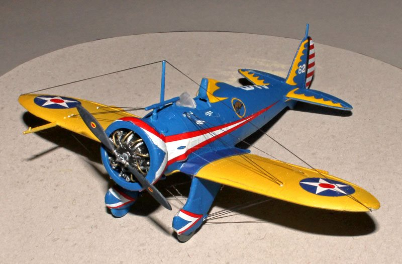 26 Gauge Wire >> Revell 1/72 scale P-26 Peashooter - November 2014 - FineScale Modeler - Essential magazine for ...