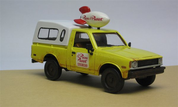 """""""Toy Story"""" Pizza Planet delivery truck - Online Reader ..."""