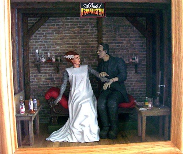 Moebius Models 1 8 Scale Bride Of Frankenstein May 2013