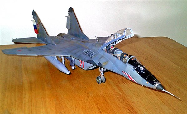 revell 1  32 scale mig-29ub - january 2014 - online reader gallery